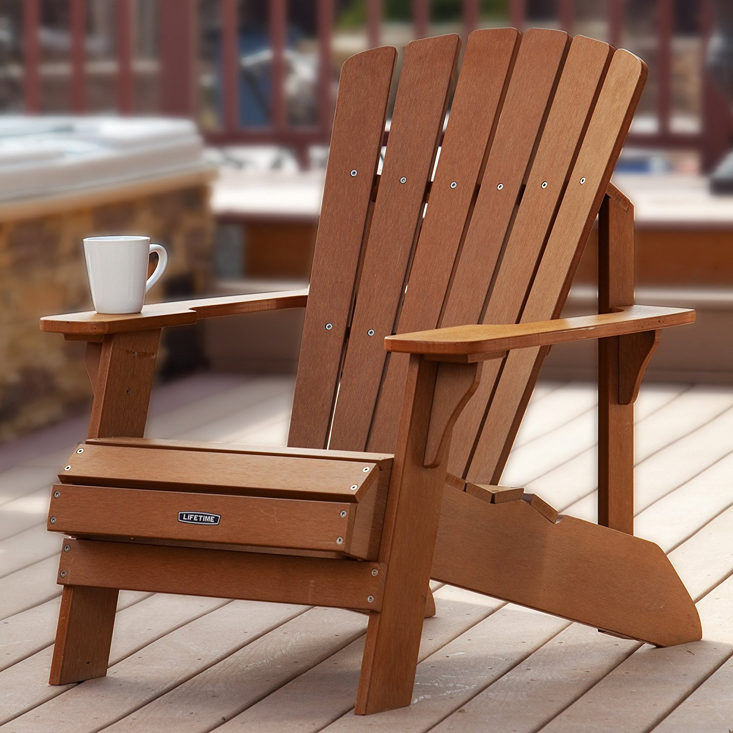 lifetime adirondack chairs animal print high chair 60064 for your outdoor space