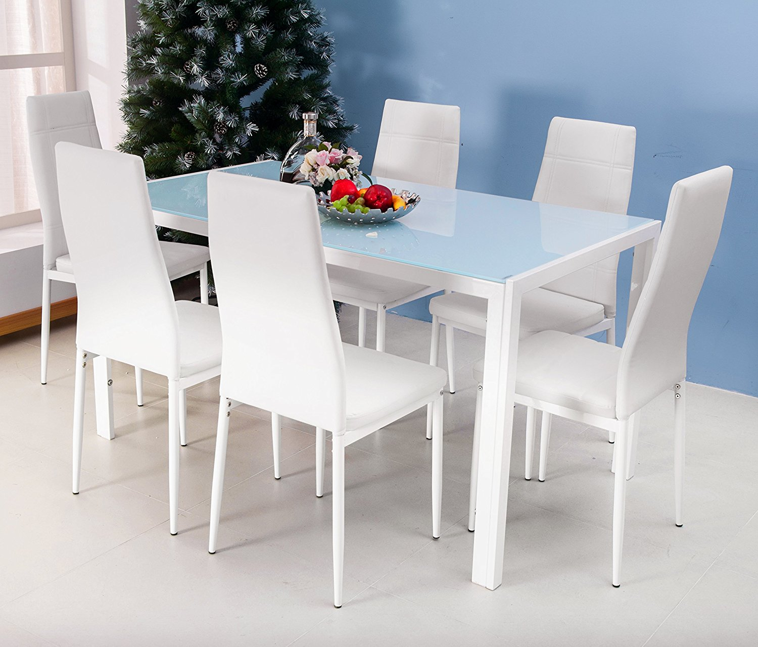 white kitchen table and chairs glad tall drawstring trash bags spend your precious time in dining