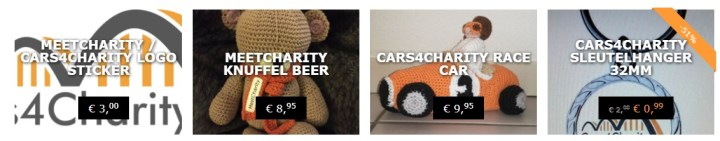cars4charity webshop