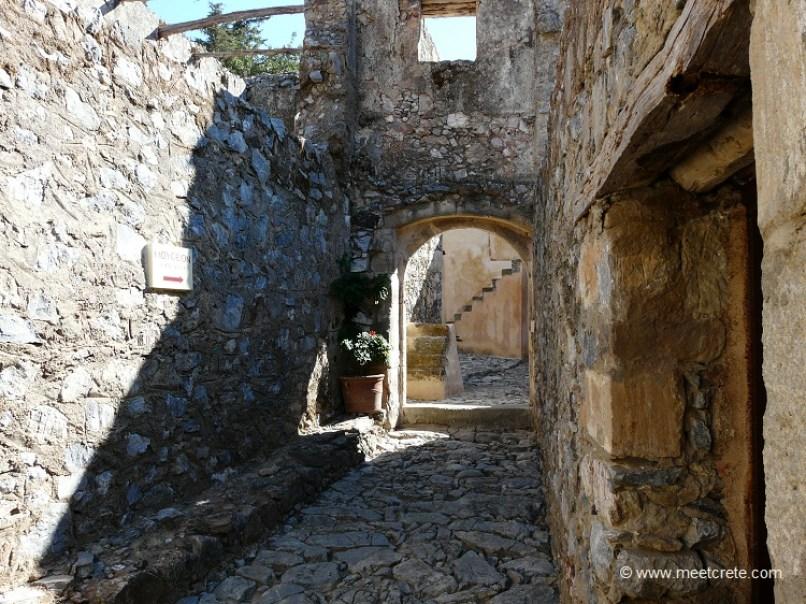 In the Lower Preveli Monastery