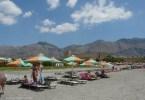 beach at Frangokastello Crete