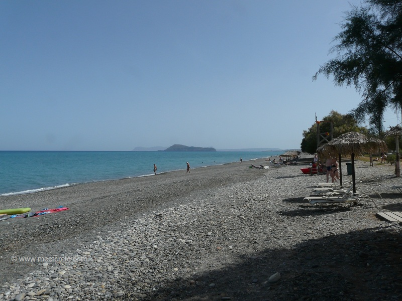 beach at Maleme Crete