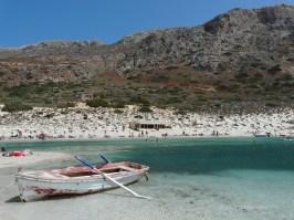 Choose between a variety of beaches at Balos beach Crete