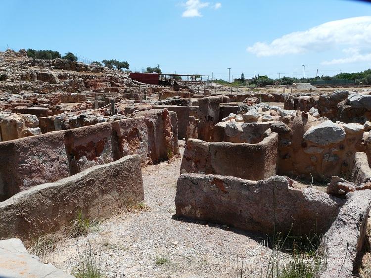 Minoan palace Kato Zakros