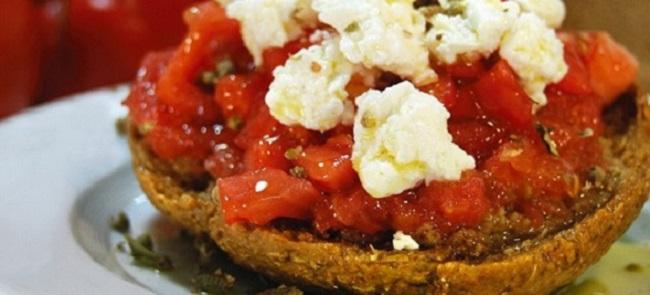 Recipe: Cretan dakos