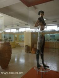 A Kouros in the Archaeological Museum Sitia