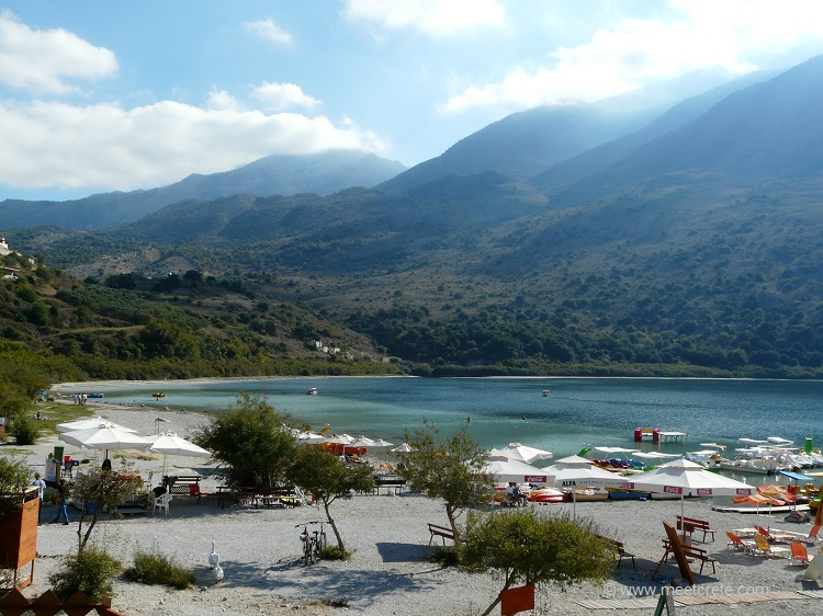 Kournas lake near Georgioupolis Crete