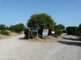 Left or right?... at Gialiskari beaches Paleochora Crete