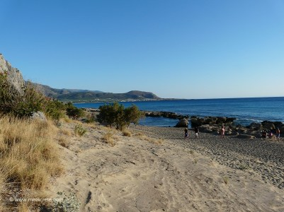 Falasarna - endless sandy beaches on the western end of Crete