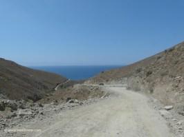 Off-Road Trip Crete - Dirt road to Preveli beach