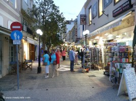 Evening shopping in Agios Nikolaos Crete