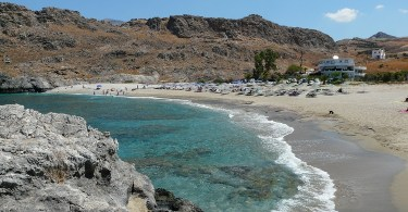 Shinaria beach at Plakias Crete
