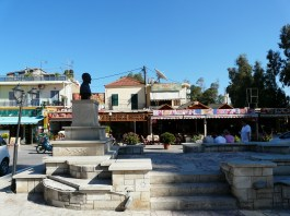 Central square in Georgioupolis