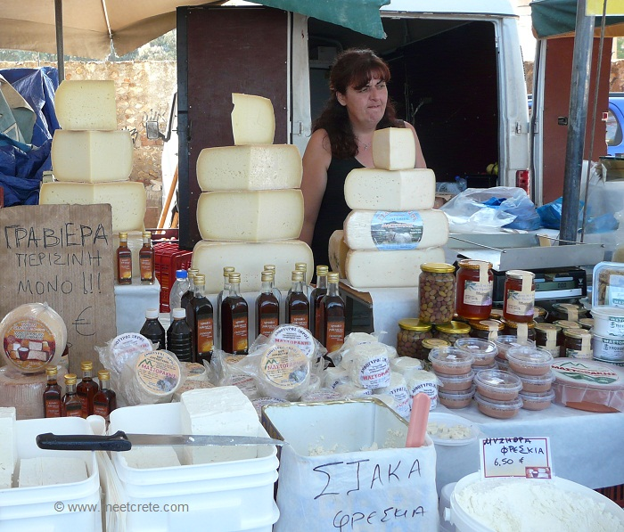 Cretan cheese Graviera