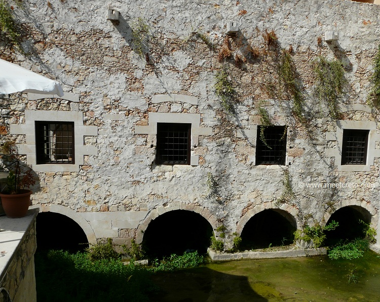 The old watermill - Kalyves village in north west Crete