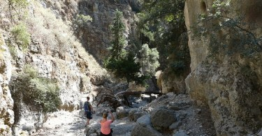 Imbros Gorge - stunning natural landscapes