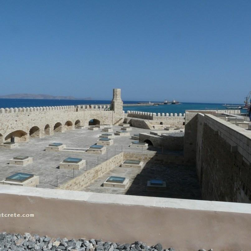 Venetian Fortress Rocca a Mare (Koules)- Landmark of Heraklion City
