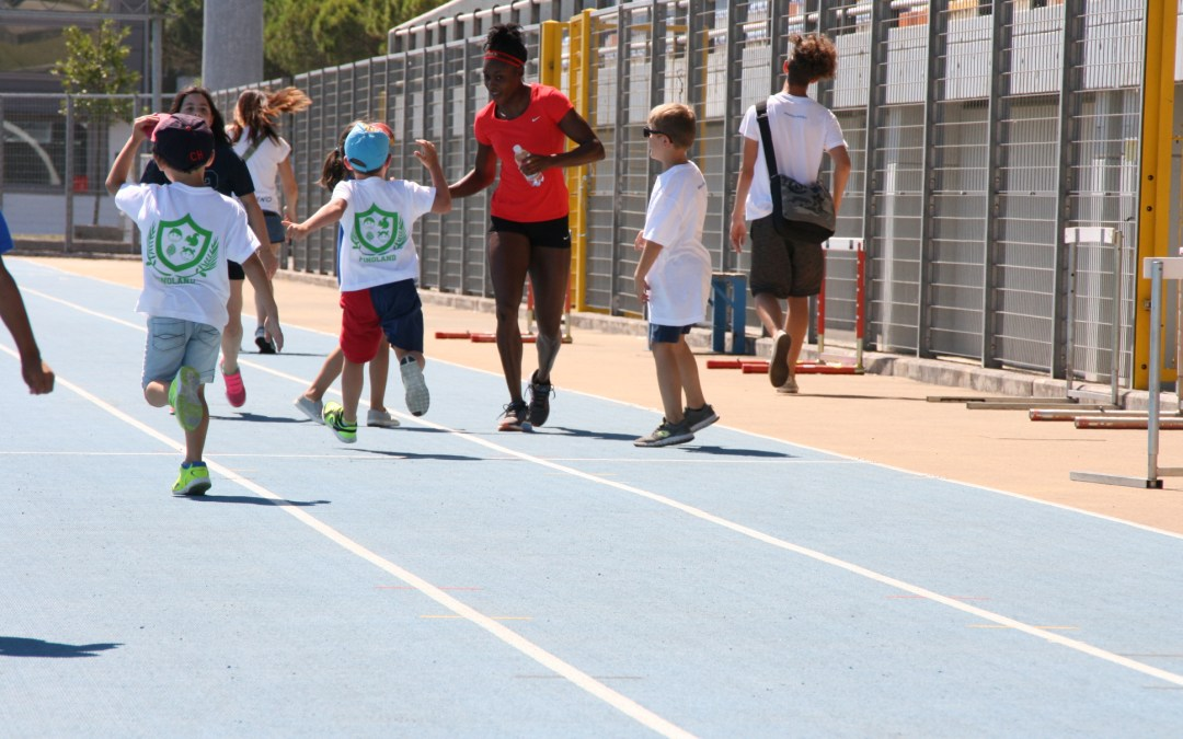 A Lignano Track and Field camp con i campioni giamaicani