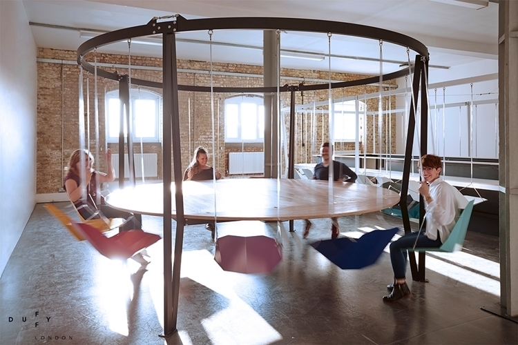 swing chair toronto west elm ryder rocking world's coolest meeting spaces – meetingsbooker blog