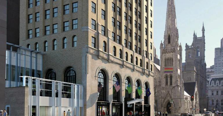 Aloft Philadelphia Downtown opens next to the Convention Center  MeetingsNet