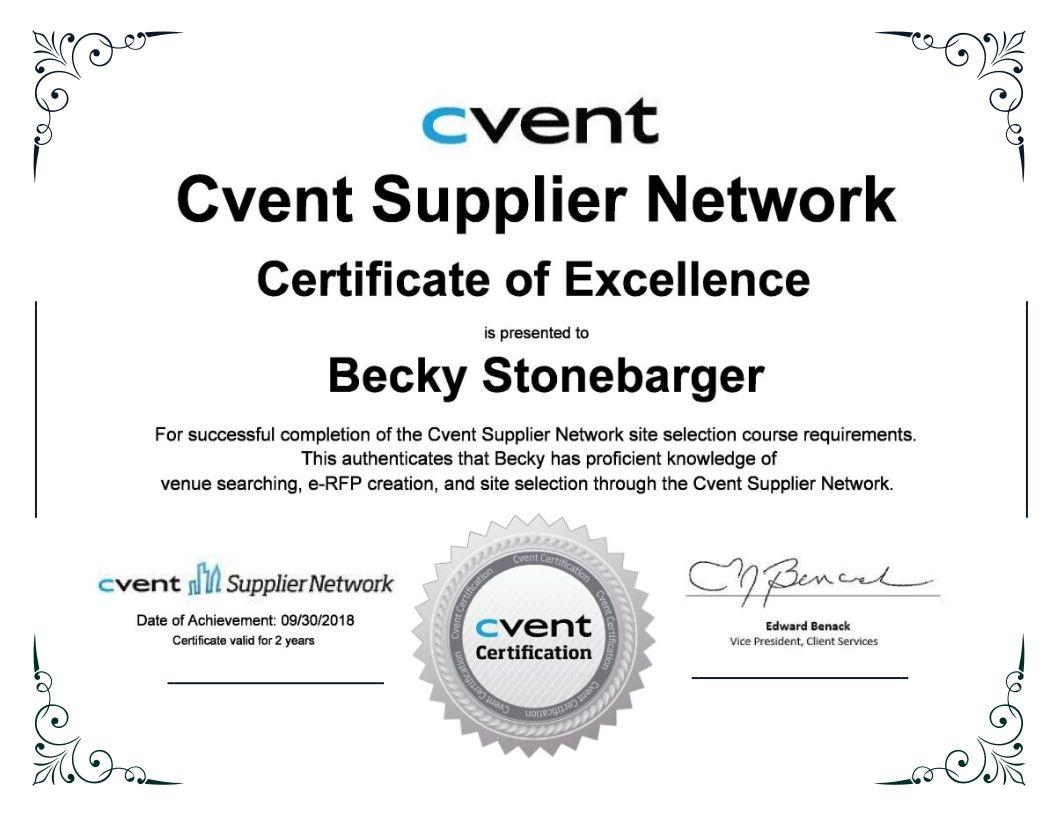 Owner Becky Stonebarger