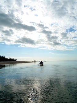 Kayaking at Gullivan Key