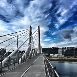 Bridge Over Willamette River