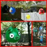 Angry Birds Theme Birthday Party - Meet Penny