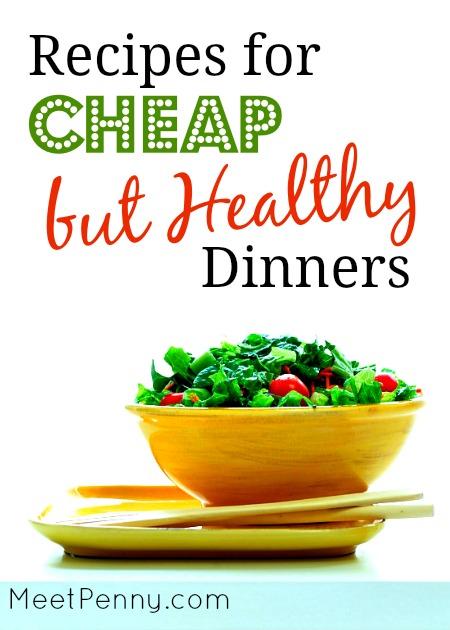 Really Really Cheap Meals