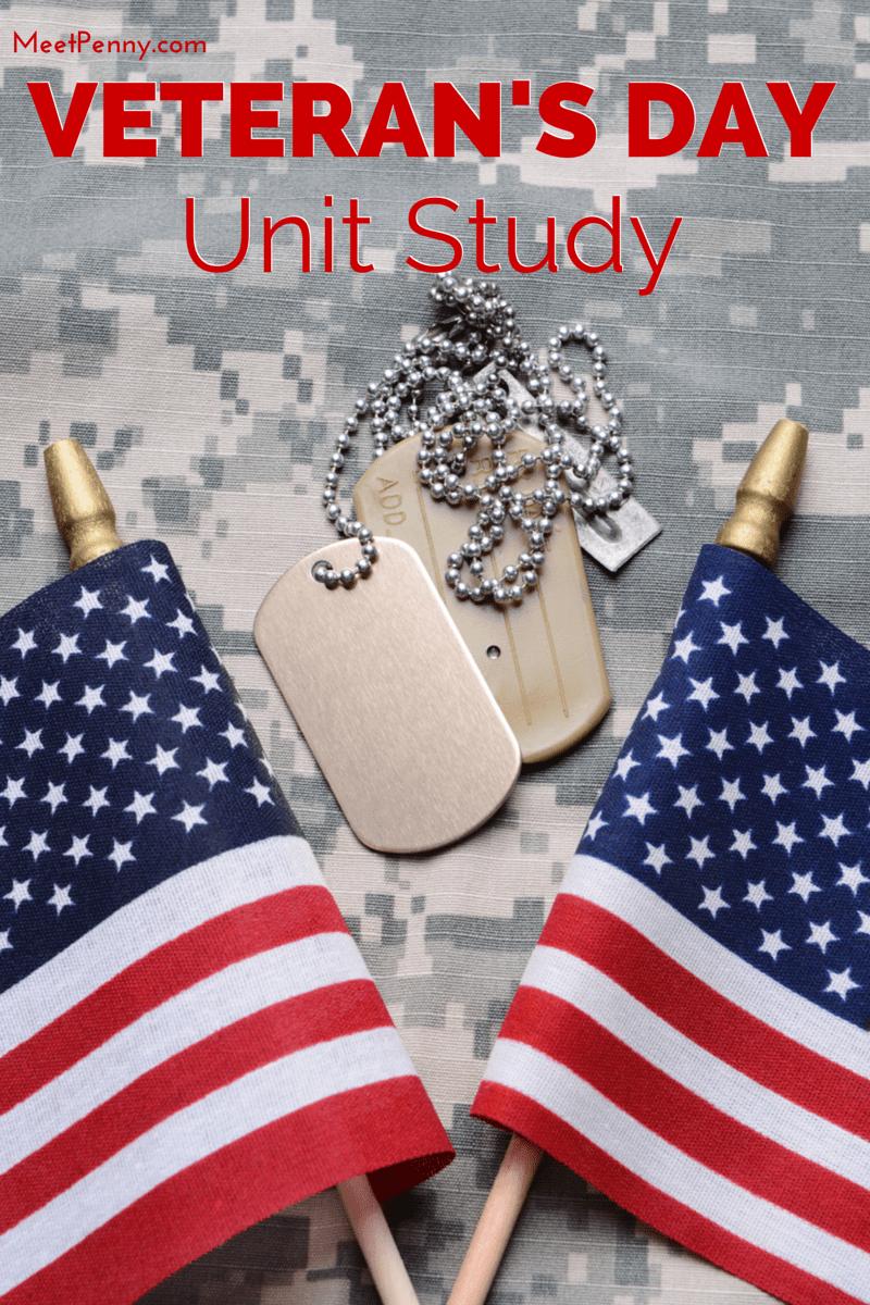 medium resolution of Veteran's Day Unit Study with Patriotic Printable Pack - Meet Penny