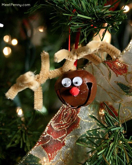 Homemade Christmas Ornaments On My Christmas Tree Meet Penny