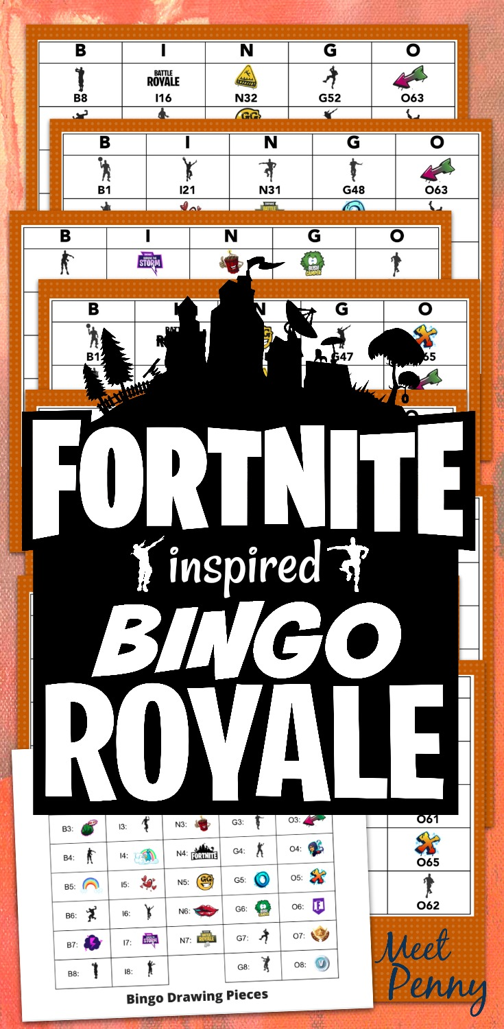 photo about Fortnite Printable named Free of charge Fortnite Get together Printables