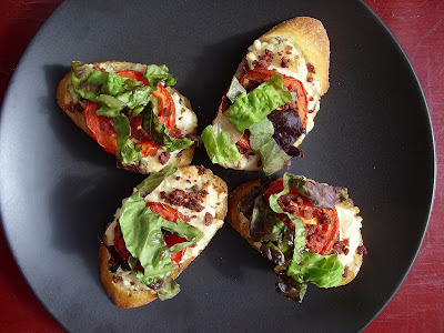 The Betty Crocker Project: BLT Crostinis