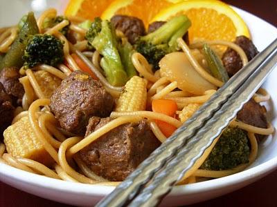 The Betty Crocker Project: Orange Teriyaki Beef with Noodles
