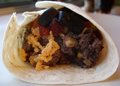 The Betty Crocker Project : South-of-the-Border Burritos