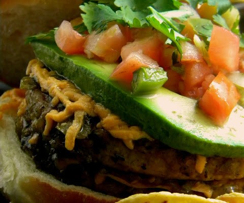 Vegan Double Taco Burgers = A Cure for What Ails You