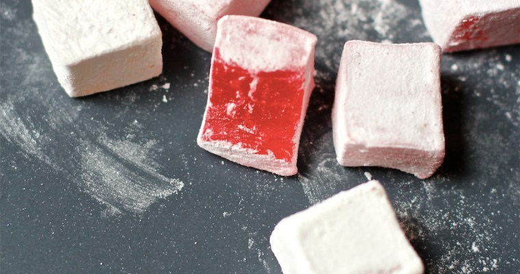 Turkish Delight (Homemade Vegan Gummy Candy)
