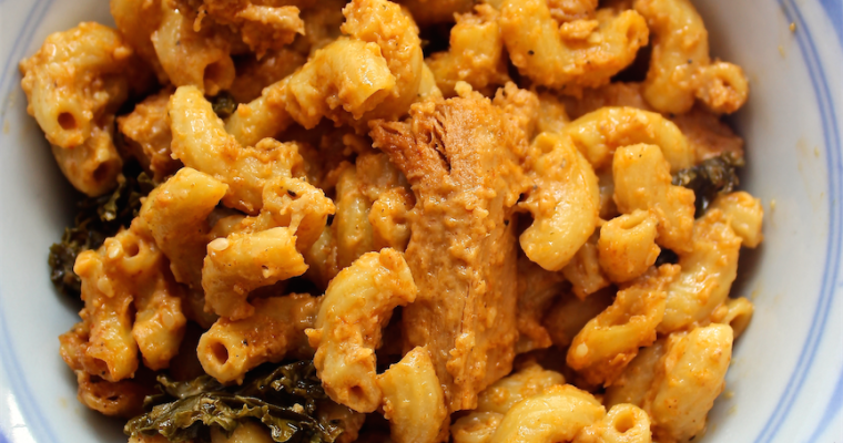 The Betty Crocker Project: Vegan Buffalo Chicken Mac & Cheese