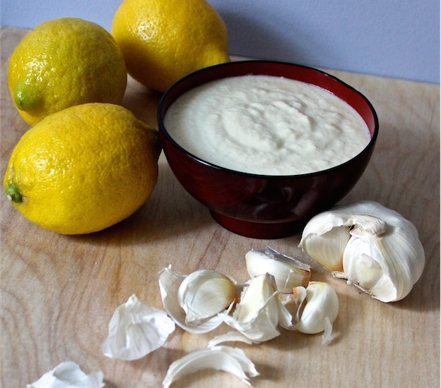 Lebanese Garlic Sauce also known as Toum and a visit to New Orleans!