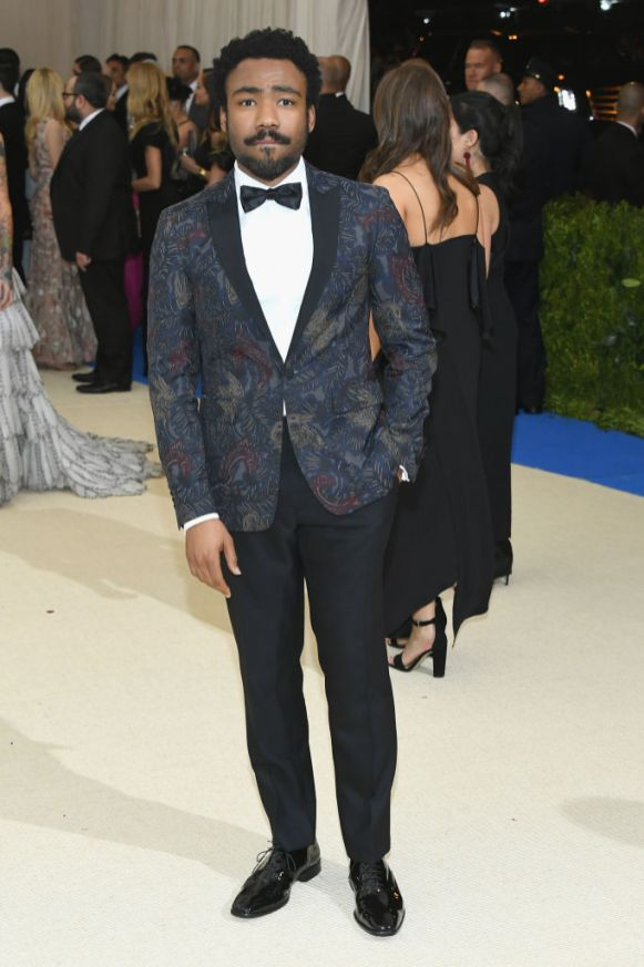 Donald Glover in Burberry