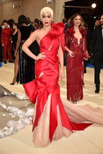 Rita Ora in Marchesa