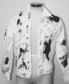 Broken Custom Denim Jacket One of One 159