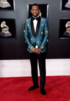 Fabolous at the GRAMMYS. Photo by Jamie McCarthy/Getty Images