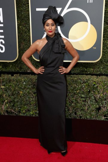 Tracee Ellis Ross at the 75th Golden Globe Awards