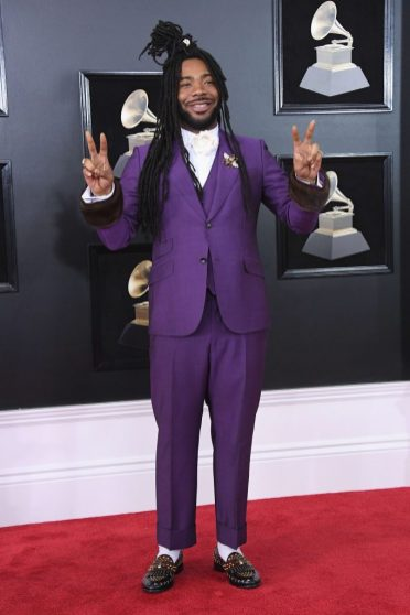 DRAM at the 2018 Grammy Awards via Twitter @bigbabydram