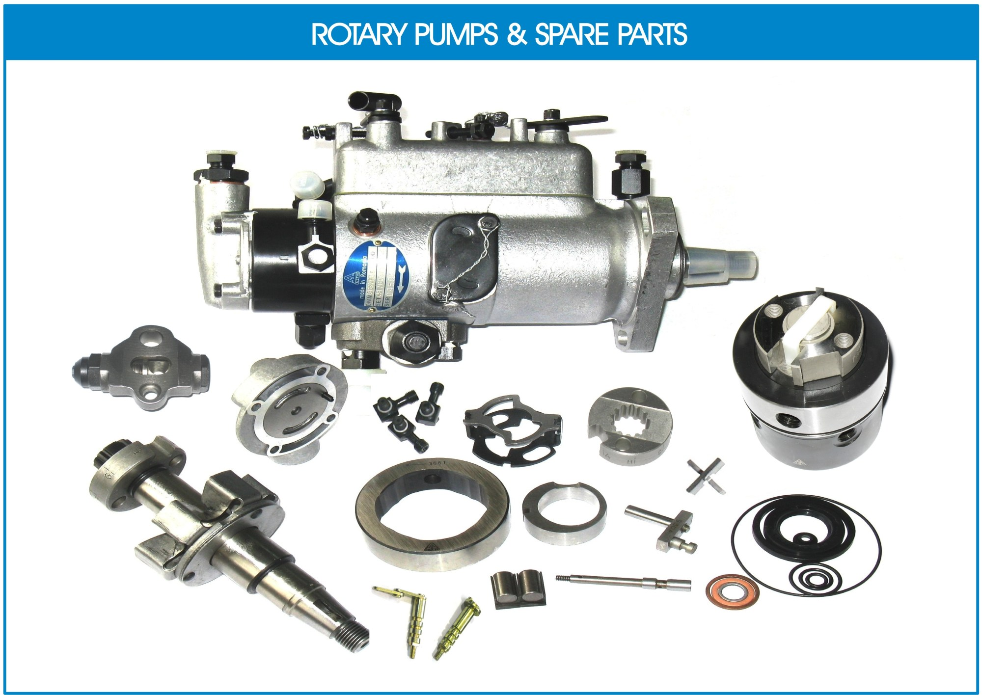 hight resolution of rotary fuel injection equipment dpa type