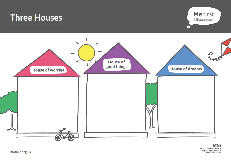 Me First Three Houses Tool Me First