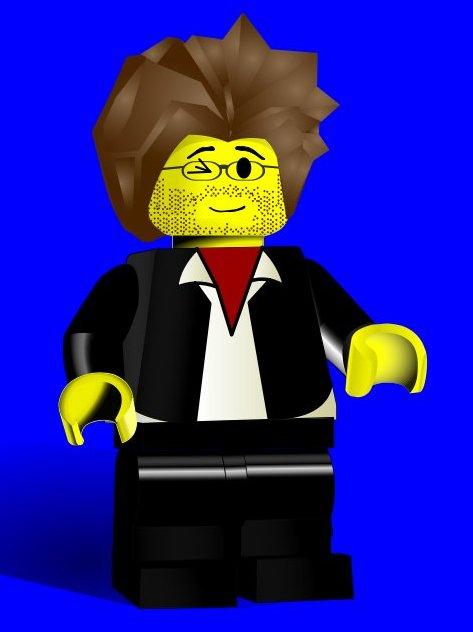 """mein Lego-Avatar, mit """"langen Haaren""""!"""