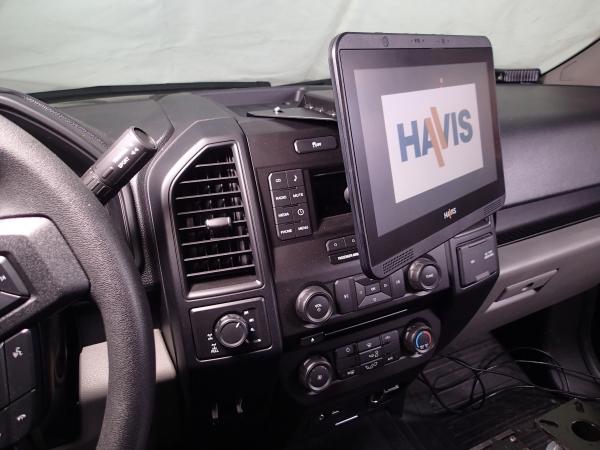 Havis Dash Mount Bracket Ford Pickup Mega Tech