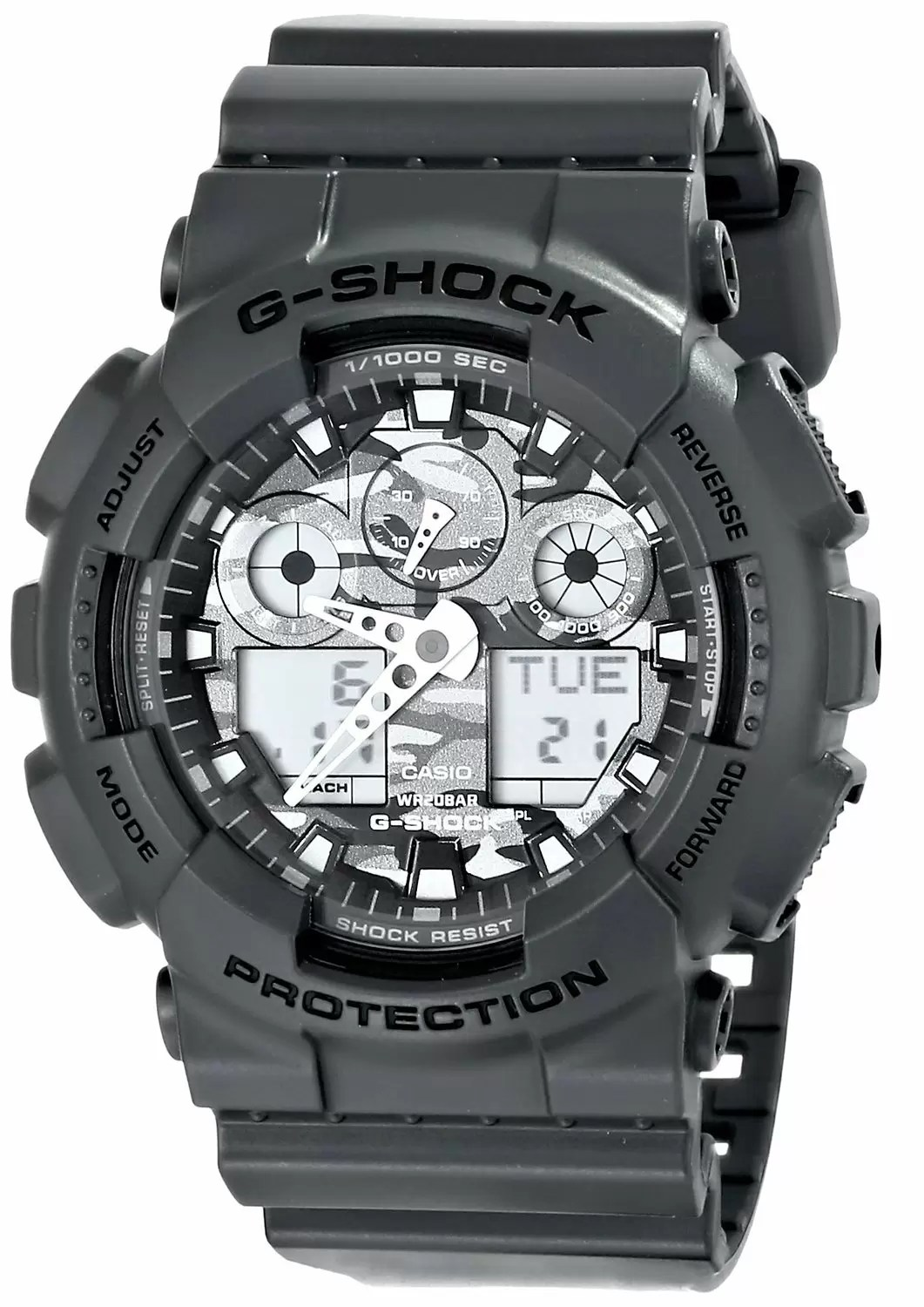 Casio G-Shock GA-100CF-8ADR Price in Pakistan, Specifications, Features, Reviews - Mega.Pk